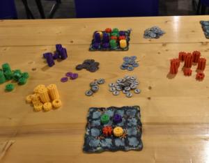 Reef componenti durante una partita