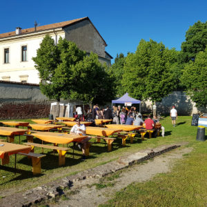 Area Street Food nel Cortile Cavallerizza