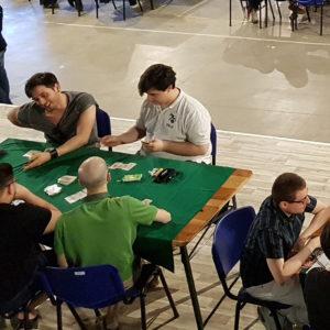 Area Tornei affollata da -Pistoleri- durante il Torneo Bang!