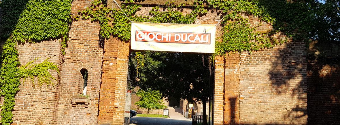 Ingresso Giochi Ducali via Rocca vecchia