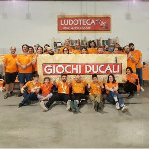 Il Team di Dadi Ducali riunito per la foto finale dopo l'evento